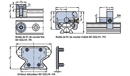 Embout obturateur - Plan
