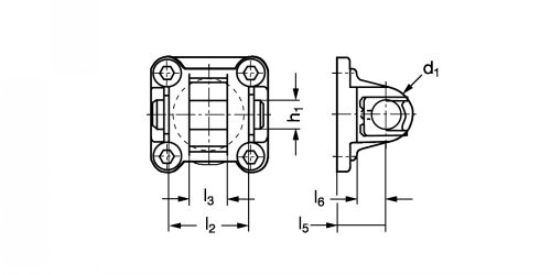 Flasque orientable - Plan