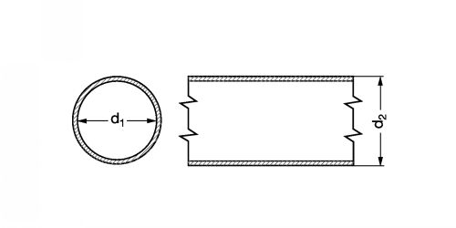 Tube calibré polyamide 12 - Plan