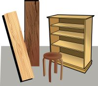 Bois et mobilier